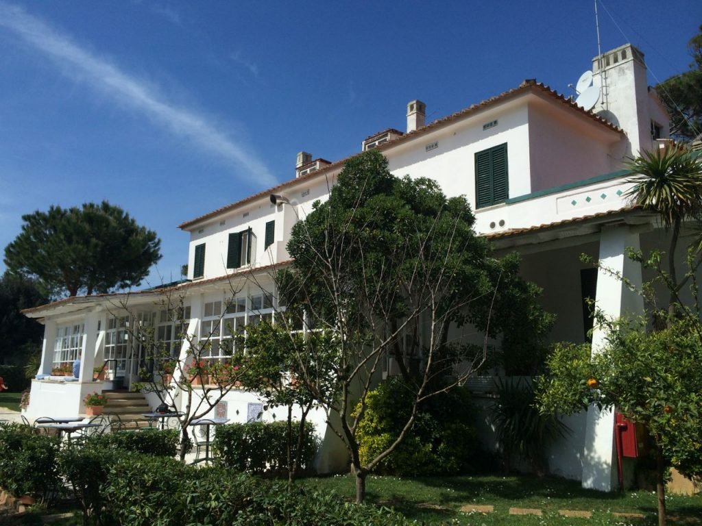 Il Miraggio, the small hotel that members of the consortium stayed at while attending the workshop