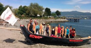 Thank you to Takaya Tours for the lovely paddle and sharing your stories with participants during our 'CaNOE Quests' in Vancouver on June 18!